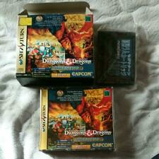 Sega Saturn Dungeons and Dragons Collection 4MB RAM Pack set Boxed