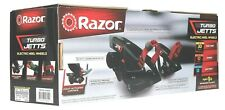 Razor Turbo Jetts Electric Heel Wheels Skates Adjustable Fit For to 176 Lbs