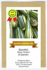 Zucchini, Zucchetti - Italian Striped (8 Samen)