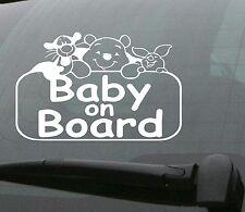 BABY ON BOARD CAR VAN WINDOW DECAL STICKER