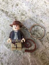 Indiana Jones Mini Figure Keyring / Keychain UK SELLER