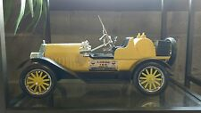 Jim Beam decanters Yellow Old Car Collectible Bottles