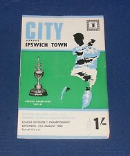 Manchester City -v- Ipswich Town  1968-1969