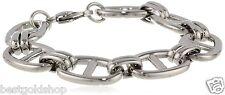 """8"""" Unisex Chunky Mariner Anchor Link Bracelet Stainless Steel 39.1gr"""