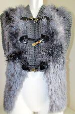Mujer Chaleco con capucha Made in Italia