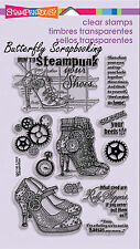 Steam Punk Shoes Perfectly Clear Unmounted Stamps Set Stampendous SSC1195 NEW