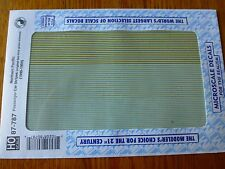 Microscale Decal HO  #87-787 Northern Pacific Pacific Passenger Car Stripes, (19