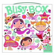 Busy Box for Girls- Book and Jigsaw Puzzle Set, Holly Brook-Piper, New Book