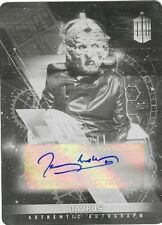 2016 Doctor Who Timeless Black Printing Plate Autograph Terry Molloy Davros 1/1