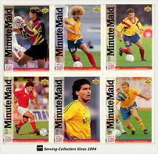 ALEXI LALAS Rare  UPPER-DECK /'94 WORLD CUP CARD with USA