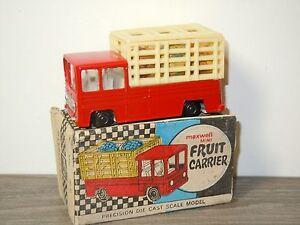 Fruit Carrier - Maxwell Mini India Calcutta in Box *30425