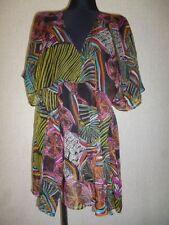 Desigual Strand Rar Dress Tunika Mehrfarbig Patchwork Gr. L