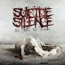 """SUICIDE SILENCE """"NO TIME TO BLEED"""" CD NEU"""