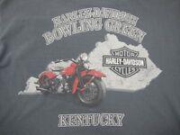 Harley-Davidson Bowling Green, Kentucky, 2008 - Men's Medium Gray T-Shirt