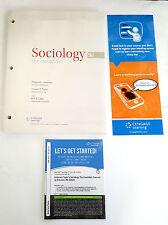 Bundle: Sociology: The Essentials 9E Loose-leaf Version, + Printed Access Card