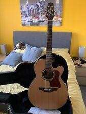 More details for takamine etn40c electro acoustic guitar mint
