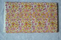 Indian Hand Block Print 100% Cotton Craft New Fabric White Colored 1 Yard By``