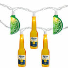 Northlight 10ct Corona Extra Beer Bottle Summer Patio Lights - 9 ft White Wire
