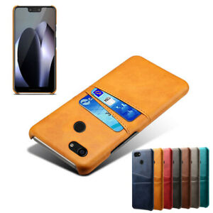 For Google Pixel 6 5 4A 4 3A 3 2 Case Luxury Leather Back Card Slot Wallet Cover