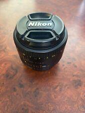 Nikon AF NIKKOR 50mm 1:1.8D Camera Lens Pre-Owned