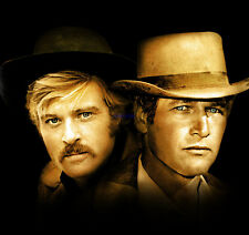 Butch Cassidy And The Sundance Kid Paul Newman Robert Redford Great Photo