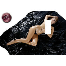 FITTED PVC BED SHEET SEXY DOMINATRIX Waterproof Bondage Sex Aid Double 160 x 200