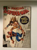Amazing Spider-man #34 - 4.5 VG - Kraven, Classic Cover!