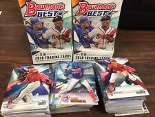 Mixed Lot Of (20) 2018 Bowmans Best Base/refractor/insert Cards