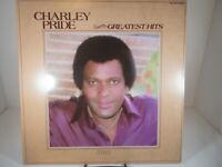Charley Pride Greatest Hits LP Album, 1981 RCA Records AHL1-4151 VG+/NM c NM