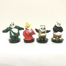 4Pcs.Topper Kung Fu Panda 3 Movie Figurine Cinemas Theatres 2016