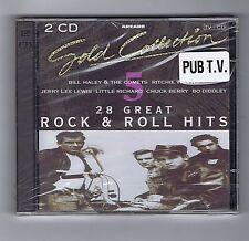 2 CD (NEW) 28 GREAT ROCK'N ROLL(B.HALEY C.BERRY J.L.LEWIS L.RICHARD C.PERKINS)