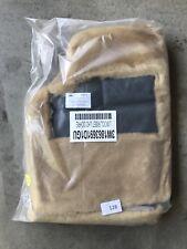 Bentley GT/GTC Lambswool Floor Mat Set OEM 3W1863691D1GU Ochre Morlands 2 Pc New