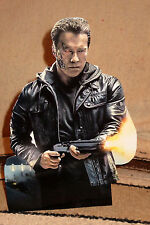 """Terminator"" Arnold Schwarzenegger Tabletop Display Standee 10 1/2"" Tall"