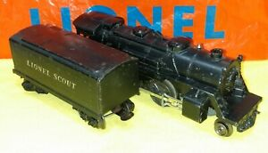 Lionel 1110 Steam Engine & non-Whistle Tender, 1949-'50, parts or restore, nice!