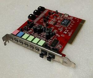 Scheda audio PCI 7.1 chip VIA ENVY24HT-S VT1721-0744CD  -  7.1 PCI Sound Card