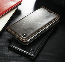 Luxury Magnetic Leather Wallet Card Flip Case Cover Skin For Huawei Ascend P8/P9