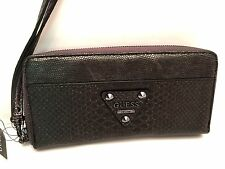 GUESS Wallet Pewter *Dylan SLG *Wristlet Clutch Cellphone 6+ New