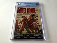 EXPLOITS OF DANIEL BOONE 1 CGC 6.5 HARD TO FIND DAVY CROCKETT QUALITY COMICS