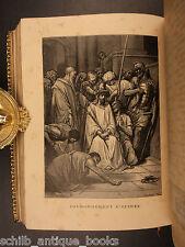1889 Roman Missal Catholic Mass FINE BINDING Missale Romanum Illustrated Tours