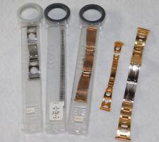 vintage LOT 5 BRACELET COBRA MONTRE FEMME france Watch LADY Watchband UHR inox