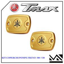 PERFORMANCE1 Pair Caps Gold Tank Oil TA001 T-Max Tmax 530 Year 2015