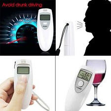Digital Alcohol Breath LCD Breathalyzer Analyzer Tester Detector Testing Pocket