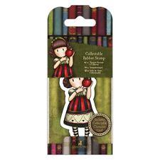 Gorjuss Collectable Rubber Stamp -Santoro -No. 37 Dear Apple