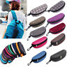 Rectangle Zipper Sunglasses Hard Eye Glasses Case Eyewear Protector Box
