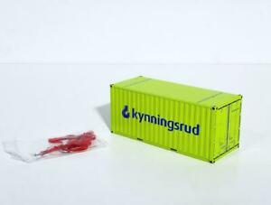 """20FT container with lifting straps """"Kynningsrud"""" WSI truck models 01-3490"""