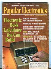Popular Electronics Magazine November 1971 Desk Calculator 070517nonjhe