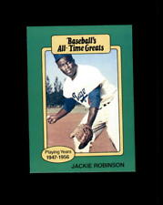 1987 Hygrade Baseball All-Time Greats Jackie Robinson (B)
