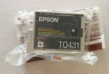 Genuine Epson T0431 Black Ink T043120 Stylus cx6600 cx6400 c86 84 No Box