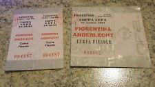 BIGLIETTO STADIO CALCIO COPPA UEFA FIORENTINA ANDERLECHT 1984 CURVA FIESOLE f3b73d7e9ab0