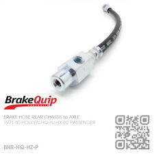 BRAKE HOSE REAR CHASSIS to DIFF [HOLDEN HQ-HJ-HX-HZ SERIES/MONARO/GTS/STATESMAN]